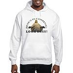 Humorous Jesus Hooded Sweatshirt