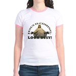 Humorous Jesus Jr. Ringer T-Shirt