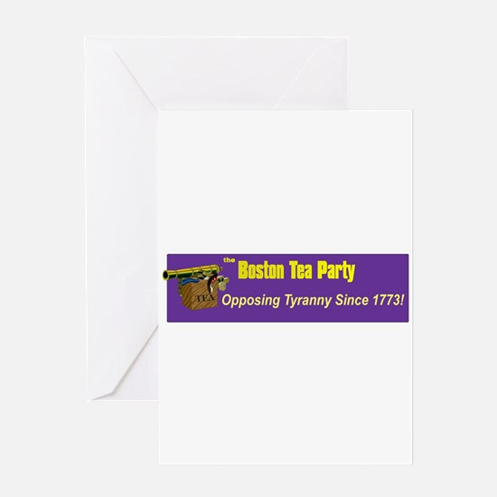 Opposing Tyranny Since 1773 Greeting Card