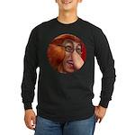 shiitaka Long Sleeve Dark T-Shirt
