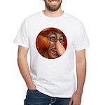 shiitaka White T-Shirt