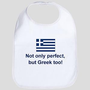 Perfect Greek Bib