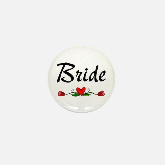 Bride (Roses) Mini Button