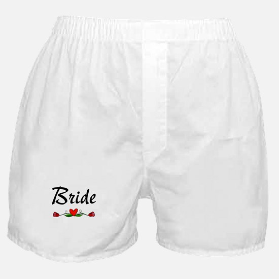 Bride (Roses) Boxer Shorts