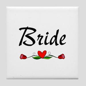 Bride (Roses) Tile Coaster