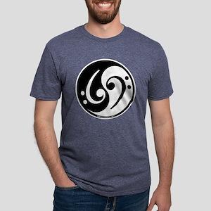 yin-yang bass blk T-Shirt