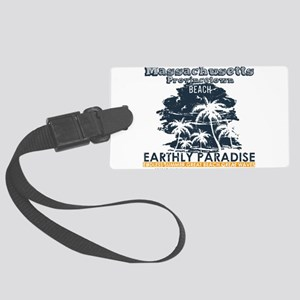 Massachusetts - Provincetown Large Luggage Tag