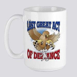 Last Great Act of Defiance Large Mug