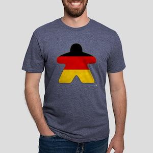 A Big German Meeple Mens Tri-blend T-Shirt