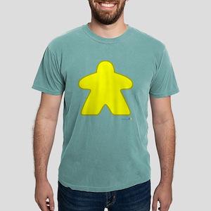 Big Yellow Meeple Mens Comfort Colors® Shirt