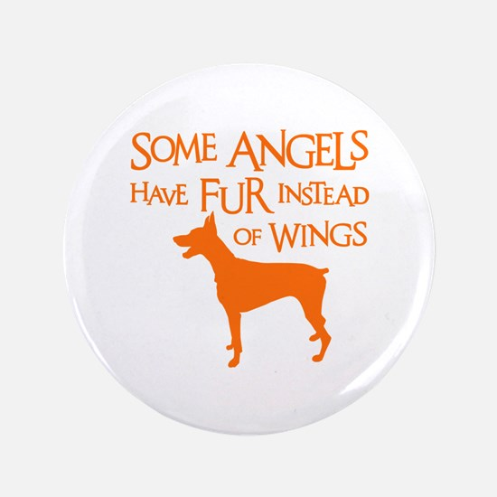 DOBIE ANGEL Button
