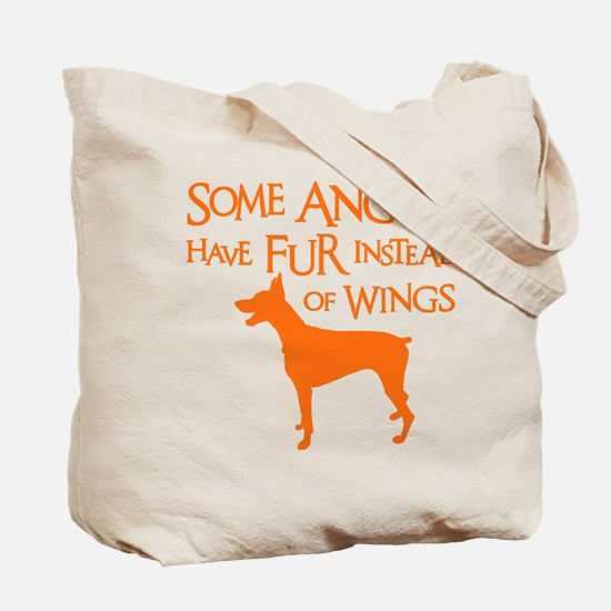 DOBIE ANGEL (both sides) Tote Bag