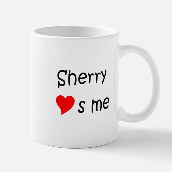 Cute Sherry name Mug