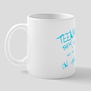 Teenagers are pretty on the ball Mug