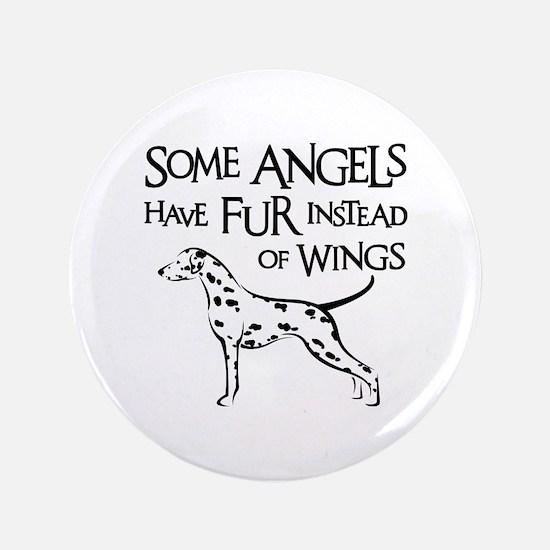 DALMATIAN ANGEL Button