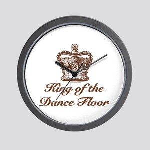 King of the Dance Floor Wall Clock