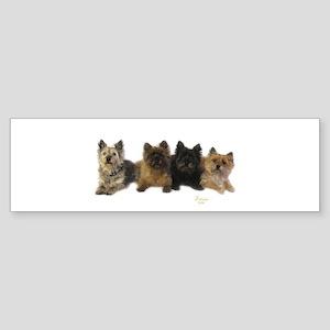 Cairn Terrier Friends Sticker (Bumper)
