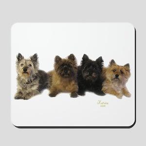 Cairn Terrier Friends Mousepad