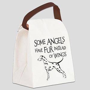 DALMATIAN ANGEL Canvas Lunch Bag