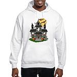 Halloween Haunted House Ghosts Hooded Sweatshirt