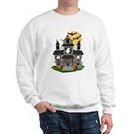 Halloween Haunted House Ghosts Sweatshirt