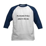 Invisible friend doesn't like you Kids Baseball Je