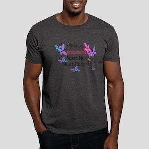 Heart Flutter Grandmama Dark T-Shirt