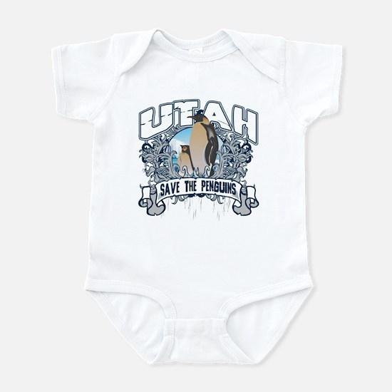 Save the Penguin Utah Infant Bodysuit