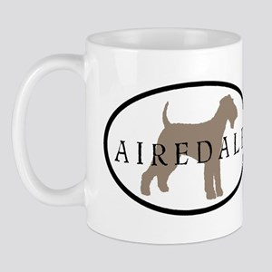 Airedale Terrier Oval #2 Mug