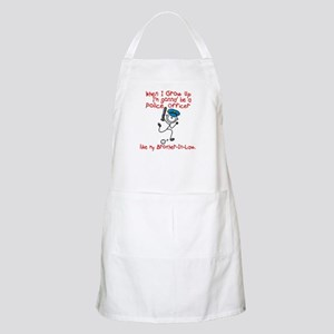 Police Officer Like My Brother-In-Law 1 BBQ Apron