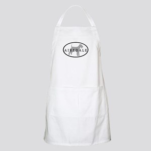 Airedale Terrier Oval #3 BBQ Apron