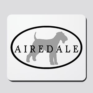 Airedale Terrier Oval #3 Mousepad