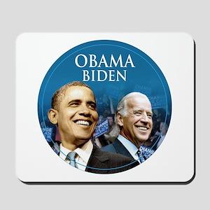 Obama-Biden Blue Logo Small Mousepad