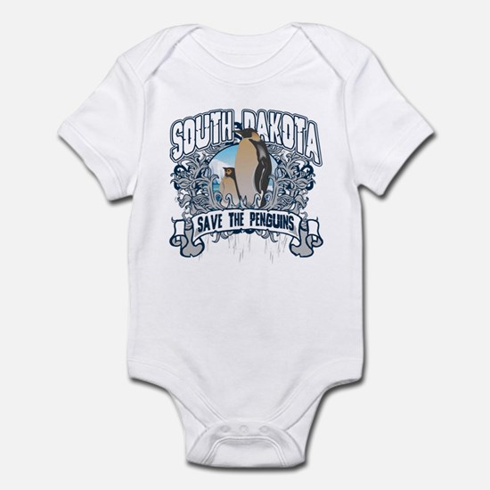 Save the Penguin South Dakota Infant Bodysuit