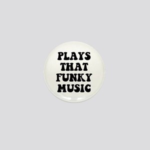 Plays Funky Mini Button