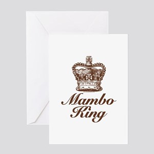 Mambo King Greeting Card
