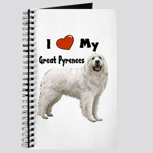 I Love My Great Pyrenees Journal