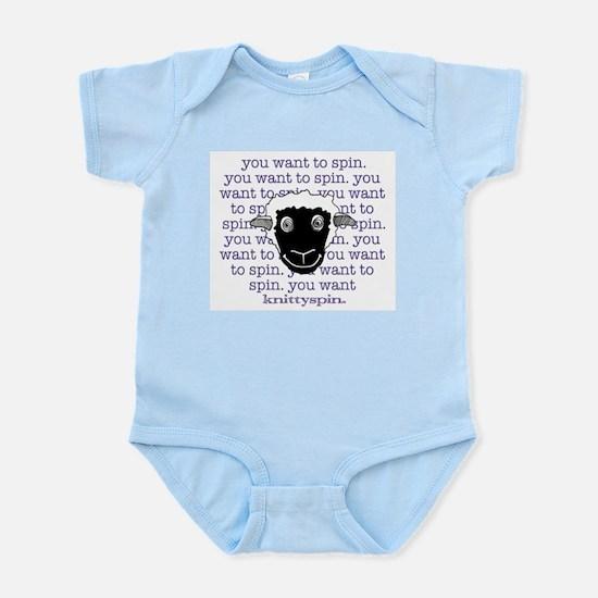 Sheep are persuasive Infant Bodysuit