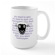 Sheep are persuasive Large Mug