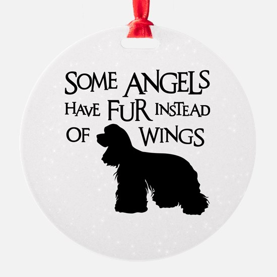 COCKER ANGEL Ornament