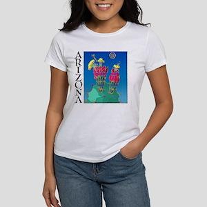 Arizona Prickly Pear Cactus Women's T-Shirt
