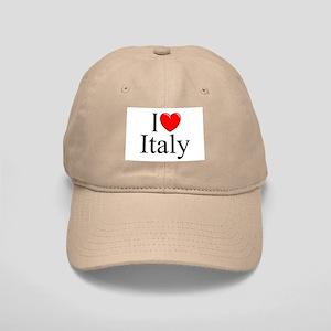 """""""I Love (Heart) Italy"""" Cap"""