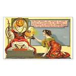 King Jack Rectangle Sticker 10 pk)