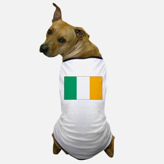 Ireland Flag Dog T-Shirt