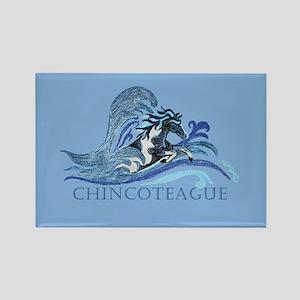 Chincoteague Pony Rectangle Magnet