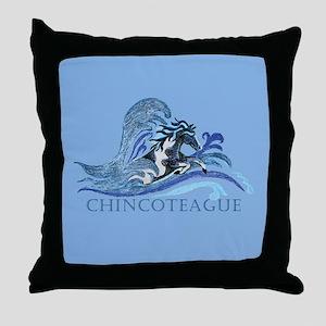 Chincoteague Pony Throw Pillow