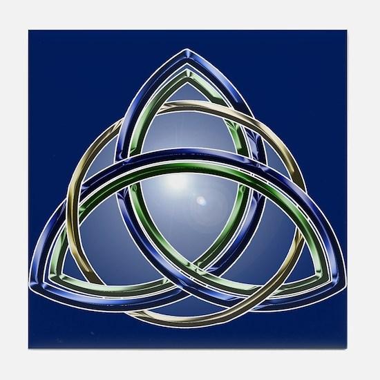 Trinity Knot Tile Coaster