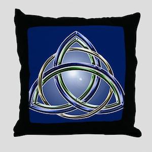 Trinity Knot Throw Pillow