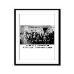 Oklahoma Territory Framed Panel Print