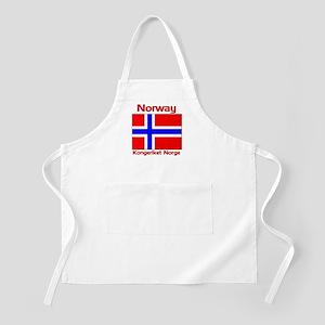 Norway Kongeriket Norge BBQ Apron
